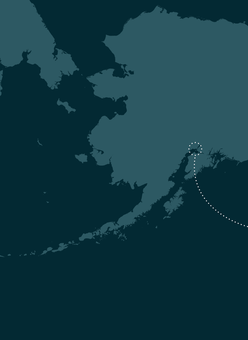 Arriving in Anchorage Map