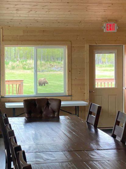 bear thru dining window